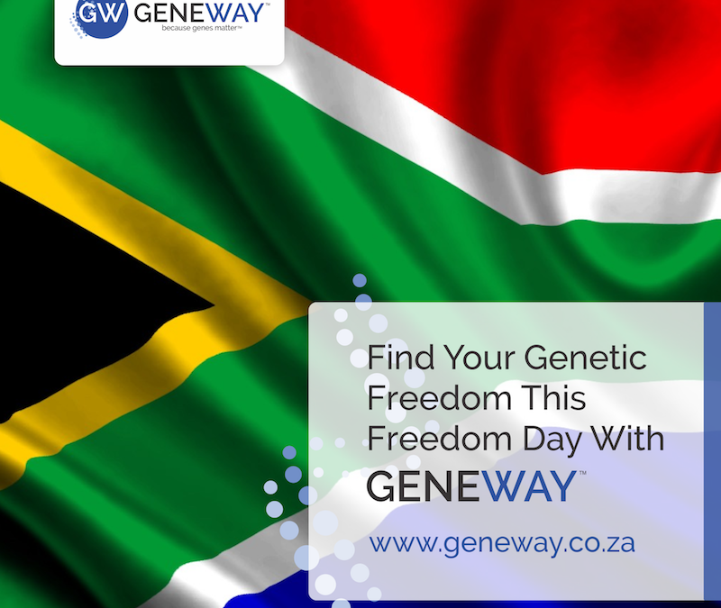 Find your genetic freedom this Freedom Day.